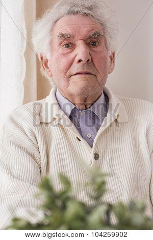 Content Elderly Man
