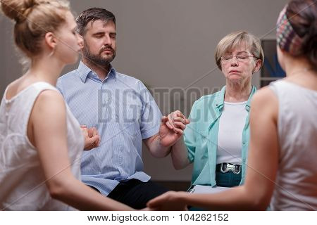 Support Group During Therapy