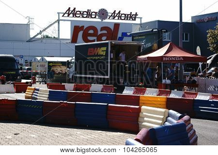 BMG motorsport event