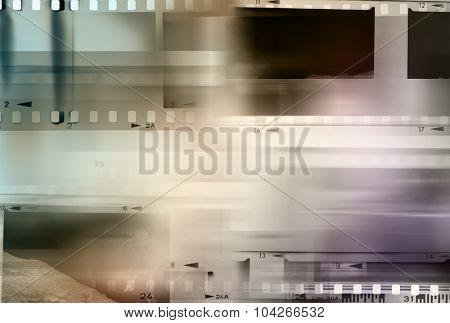 Film negative frames