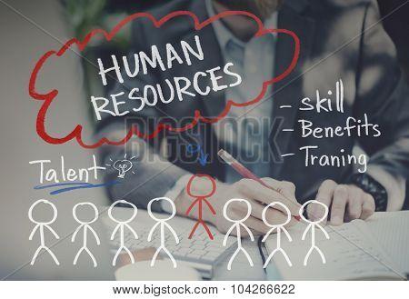 Human Resources Hiring Job Occupation Concept