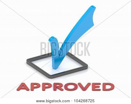 Approbation Check Mark