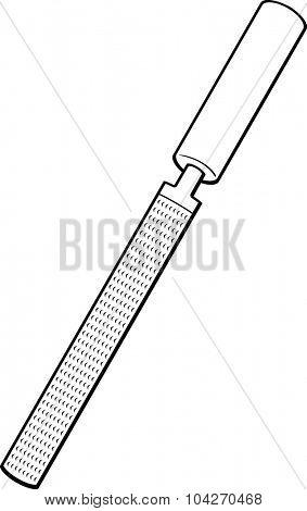 rasp hand tool