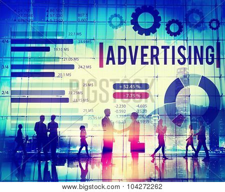 Advertising Digital Marketing Commercial Promotion Concept