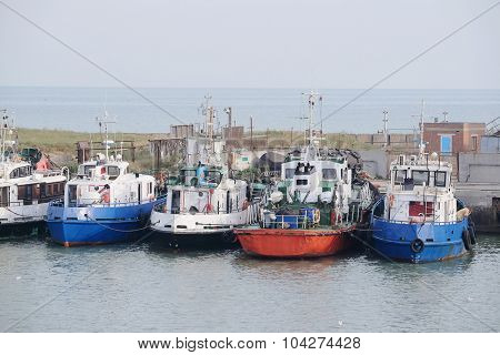 image of a Boats stand at a berth