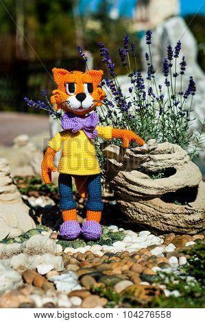 Soft Toy - Orange Cat