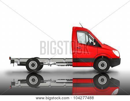 Modern van chassis
