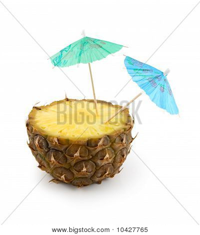 Pinapple And Umbrellas
