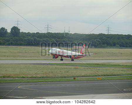 Air Berlin Aircraft Taking Off