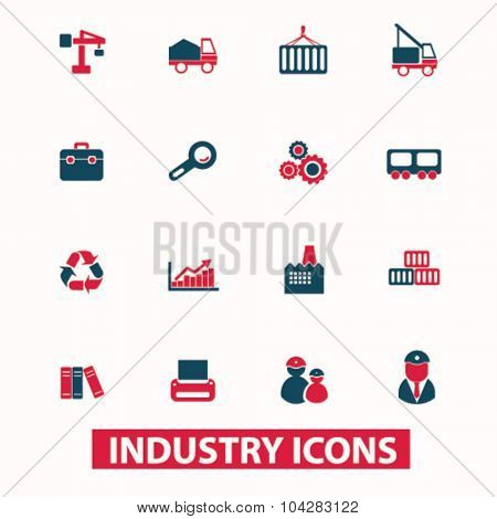 industry, industrial icons