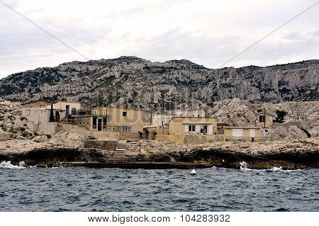 Coastal Landscape Between Cassis And Marseille