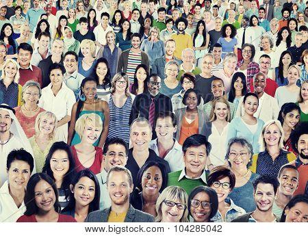 Diverse Diversity Ethnic Ethnicity Togetherness Unity Concept