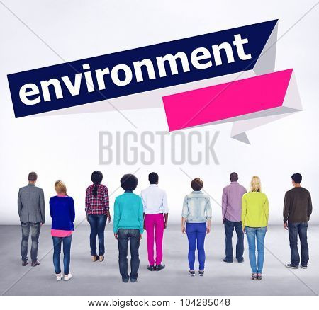 Environment Ecology Environmental Conservation Global Concept