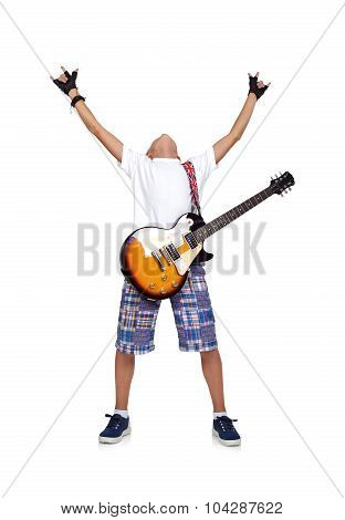 Happy Rocker Boy