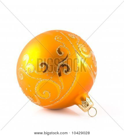 Orange Christmas Toy