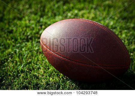 american football on stadium