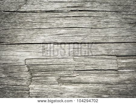 Old weathered wooden background texture