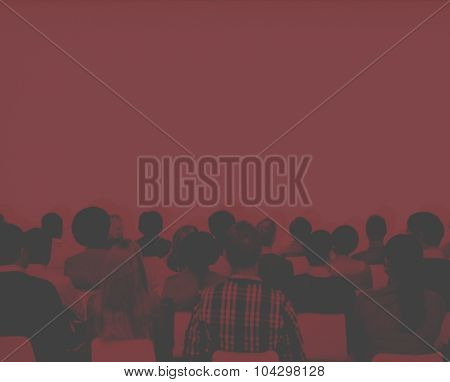 Conference Meeting Learning Presentation Audience Concept