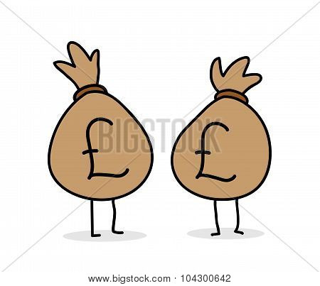 Money Bags (Pound Sterling)