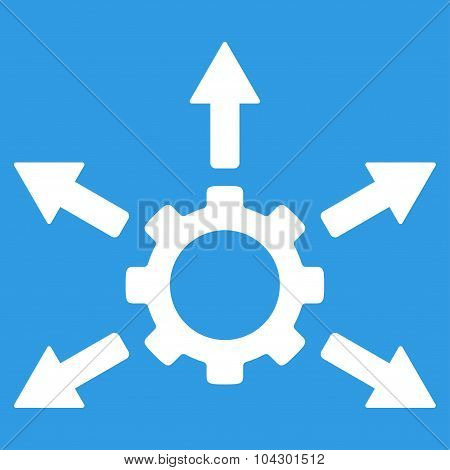 Gear Distribution Icon