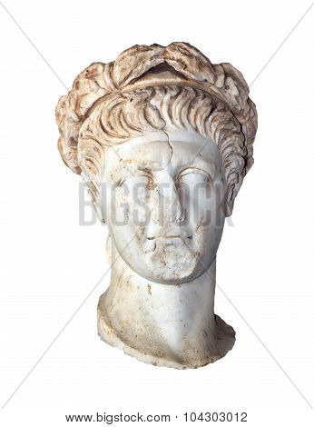 Bust of Roman Emperor Trajan (Reign 98-117 AD)