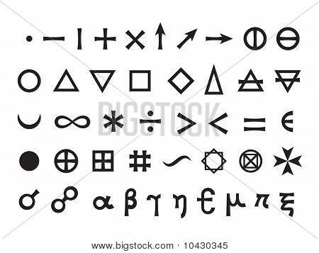 Mystique Symbols set I