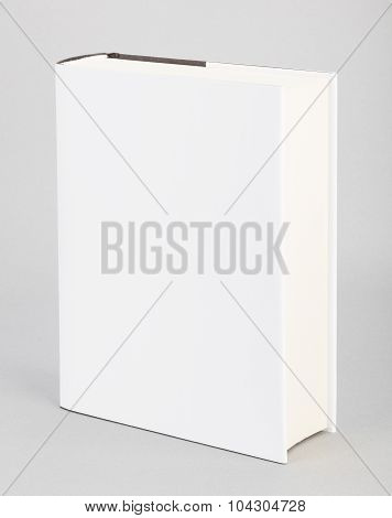 Blank Book White Cover 6 X 8,5 In