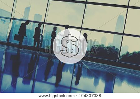 Us Dollar Currency Financial Money Economy Concept