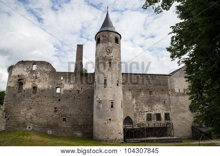 Medieval Haapsalu Episcopal Castle, Estonia