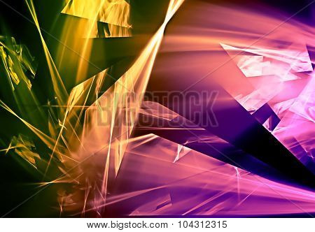 Abstract Broken Design Background