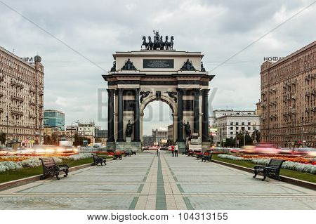 Triumphal Arch Of Moscow To Commemorate Russia's Victory Over Napoleon