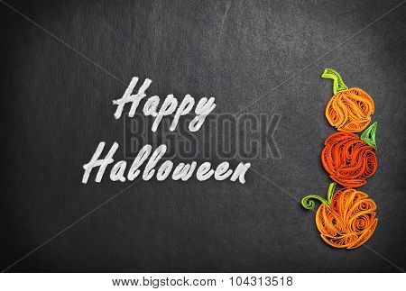 Quilling Of Pumpkins