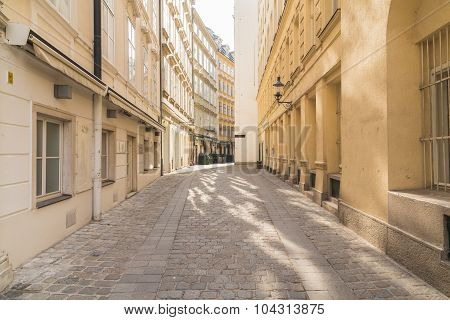 Cobbled Streets In Vienna