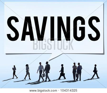 Savings Accounting Economy Money Financial Concept