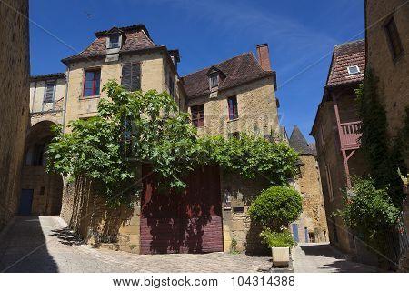 Architecture Of Sarlat-la-caneda, Dordogne, Aquitaine, France