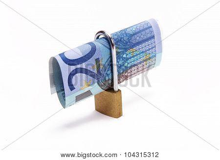 Twenty Euros Locked