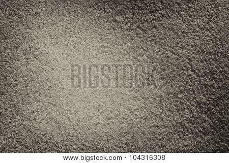 Gray sand texture closeup