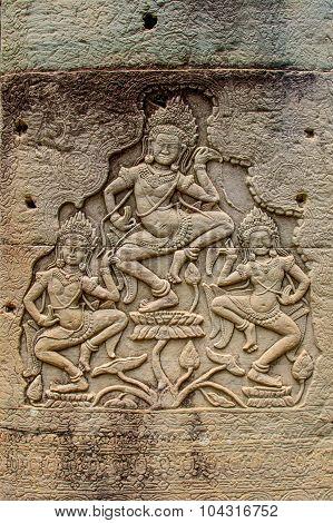Cambodian Temple Scenes 20