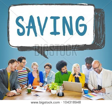 Saving Save Economy Accounting Money Concept