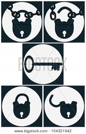Set Icons Lock