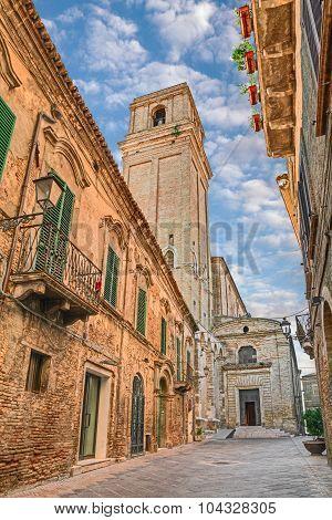 Church Of Santa Maria Maggiore In Vasto, Abruzzo, Italy