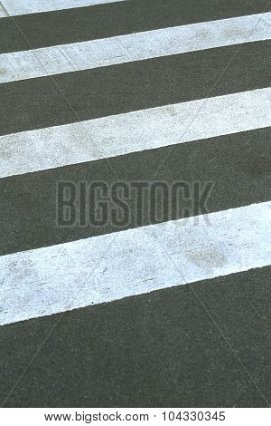 Pedestrian Crossing Closeup