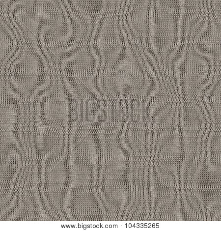 Seamless Knitted Wool Texture For Textile Background In Color Named Sand Dollar (color Of The Year 2