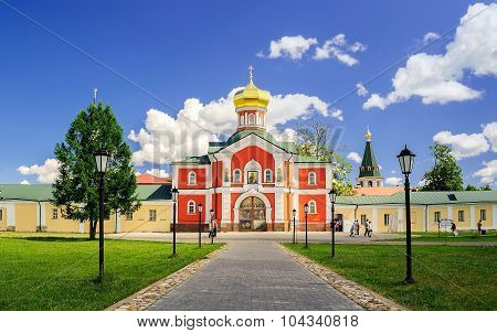 Gateway Church Of St. Philip in Valday, Russia