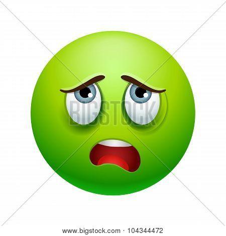 Tired emoticon