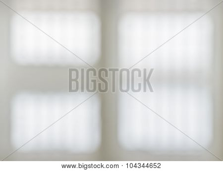 Abstract Image Background Of White Window