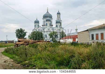 Church Of The Ascension In Kasly, Russia