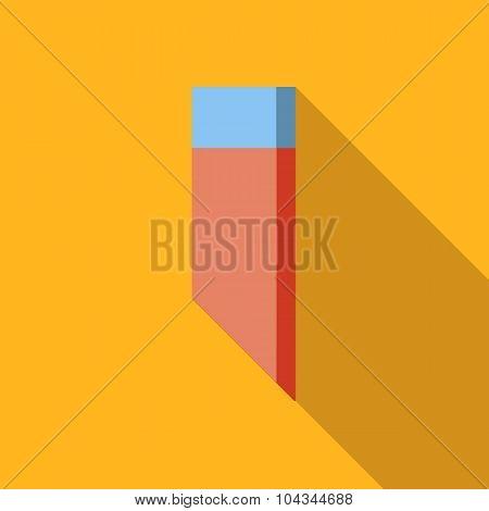 Eraser flat icon