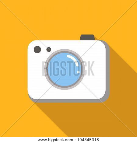 Camera colored flat icon