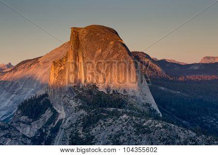 Half Dome, Sunset, Yosemite National Park, CA